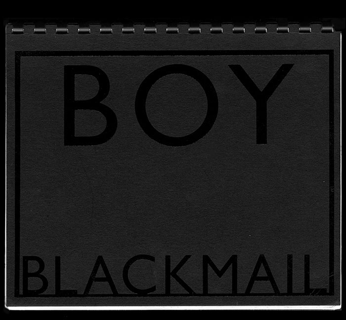 BOY BLACKMAIL